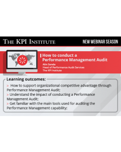 How to conduct a Performance Management Audit
