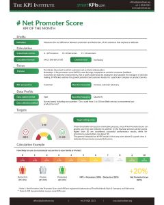 KPI of the Month: # Net Promoter Score