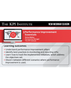 Performance Improvement Essentials (delivered in Spanish)
