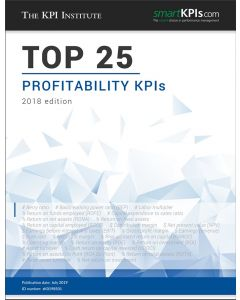 Top 25 Profitability KPIs – 2018 Edition
