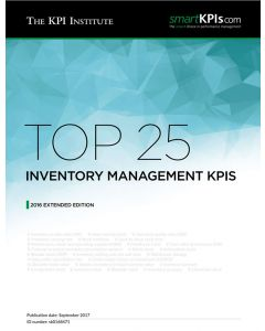 Top 25 Inventory Management KPIs 2016 Edition