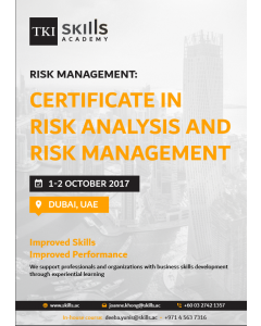 Certificate in Risk Analysis and Risk Management