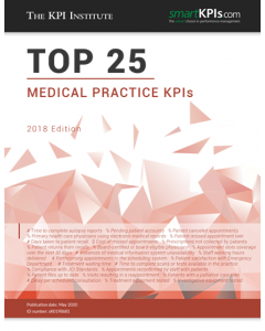 The Top 25 Medical Practice KPIs – 2018 Edition
