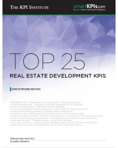 Top 25 Real Estate Development KPIs – 2016 Extended Edition