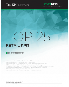 Top 25 Retail KPIs - 2016 Extended Edition