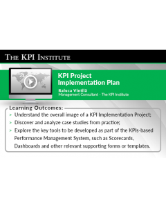 KPI Implementation Project Plan