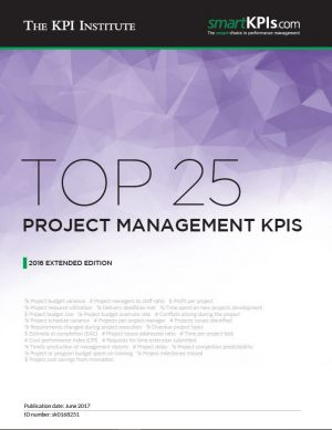 Top 25 Project Management KPIs - 2016 Extended Edition