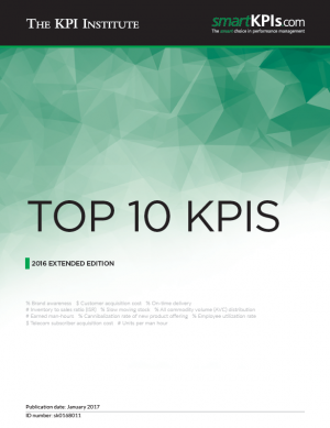 Top 10 KPIs - 2016 Extended Edition