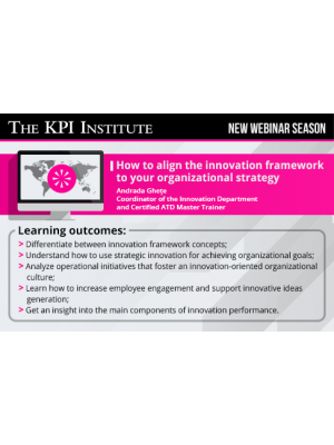 How to align the innovation framework to your organizational strategy