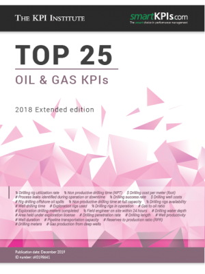 Top 25 Oil & Gas KPIs - 2018 Edition