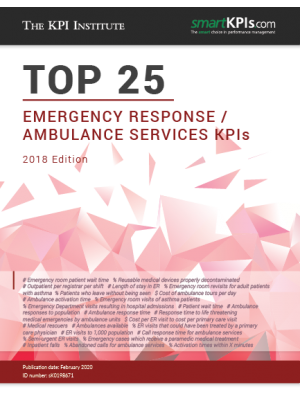 The Top 25 Emergency Response / Ambulance Services KPIs– 2018 Edition