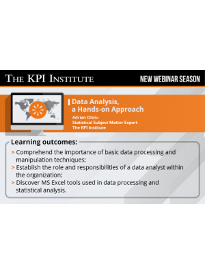 Data Analysis - a Hands-on Approach 2016 SEA Edition