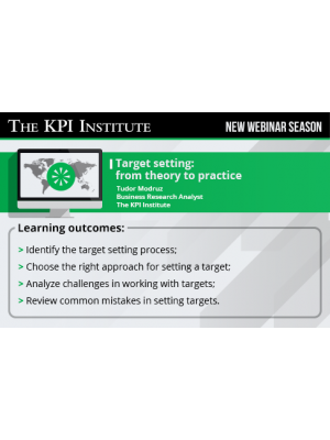 Target setting: From theory to practice 2016 Global Edition
