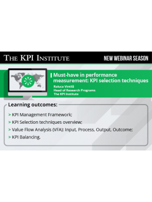 Must-have in performance measurement: KPI selection techniques 2016 SEA Edition