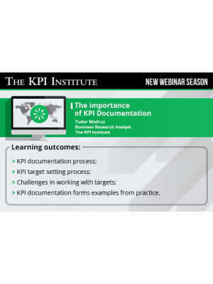 The importance of KPI Documentation 2016 Global Edition