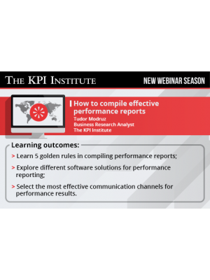 How to compile effective performance reports 2016 Global Edition