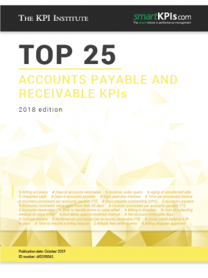 Top 25 Accounts Payable and Receivable KPIs - 2018 Edition