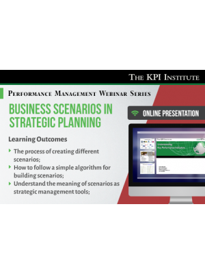 Business scenarios in strategic planning