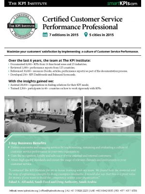 Certified Customer Service Performance Professional