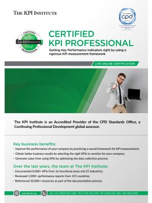 Live Online Certified KPI Professional