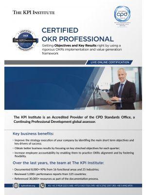 Live Online Certified OKR Professional