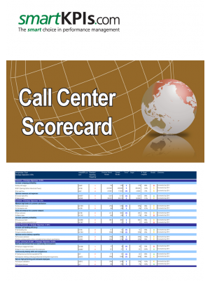 Call Center Scorecard