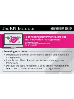Connecting performance, project and innovation management