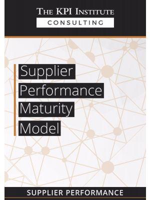 Supplier Performance Maturity Model