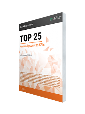 The Top 25 Human Resources KPIs – 2020 Extended Edition