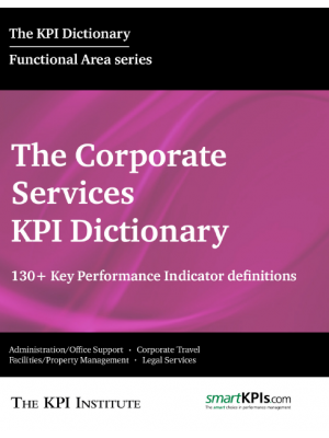 The Corporate Services KPI Dictionary