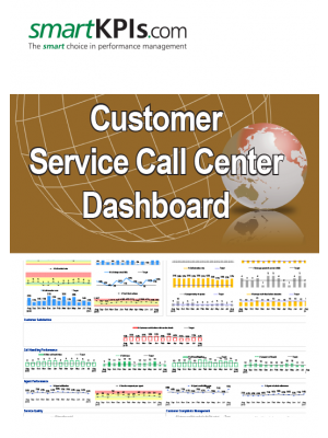 Customer Service Call Center Dashboard
