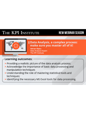 Data Analysis, a complex process: make sure you master all of it!