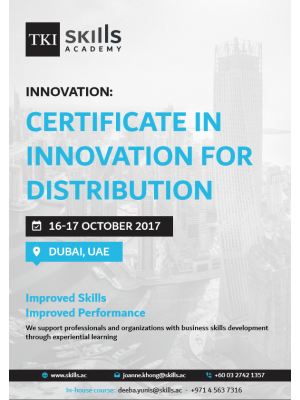 Certificate in Innovation for Distribution