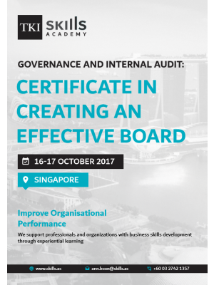 Certificate in Creating an Effective Board