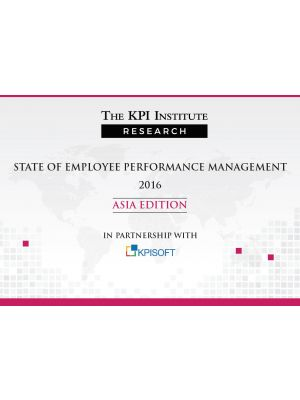 State of Employee Performance Management 2016 Asia Edition