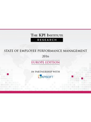 State of Employee Performance Management 2016 Europe Edition