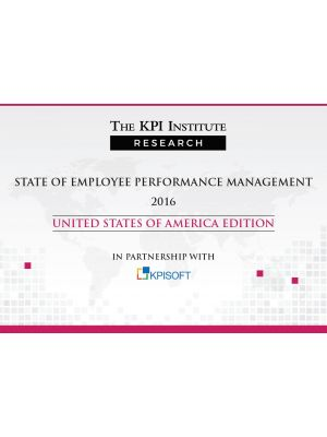 State of Employee Performance Management 2016 USA Edition