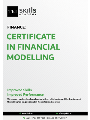 Certificate in Financial Modelling