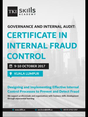Certificate in Internal Fraud Audit