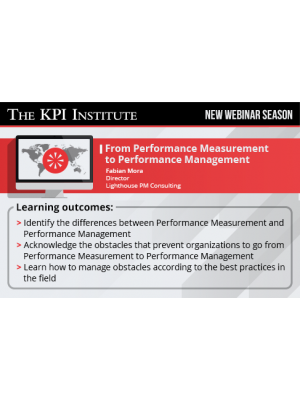 From Performance Measurement to Performance Management