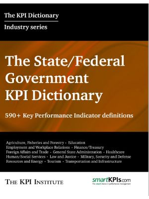 The State Government KPI Dictionary
