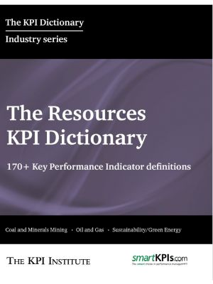 The Resources KPI Dictionary