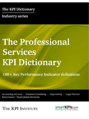 The Professional Services KPI Dictionary