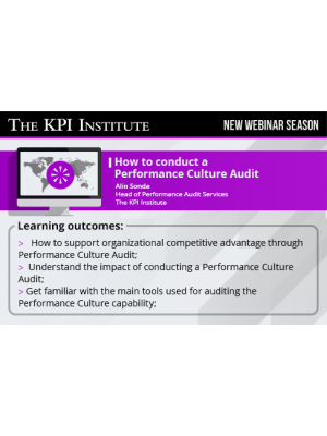 How to conduct a Performance Culture Audit