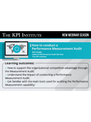 How to conduct a Performance Measurement Audit