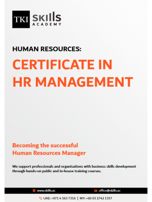 Certificate in HR Management
