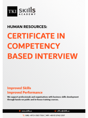 Certificate in Competency Based Intreview