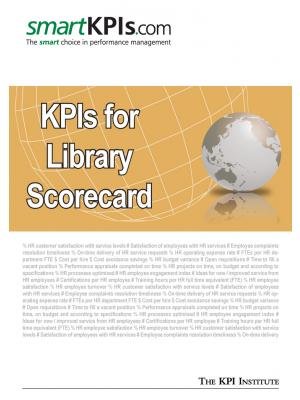 KPIs for Library Scorecard