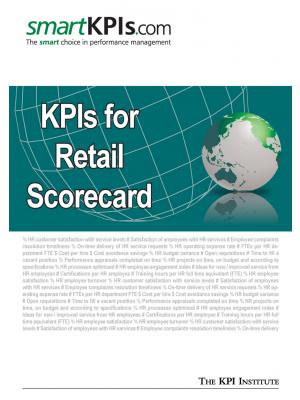 KPIs for Retail Scorecard