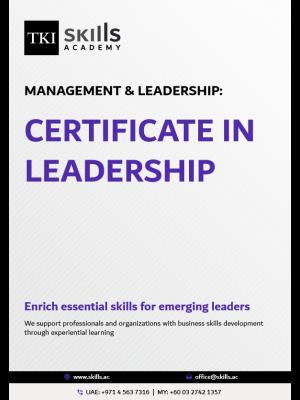Certificate in Leadership